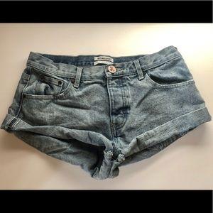 One X One Teaspoon Bandits Denim Shorts